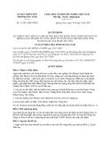 Quyết định 11/2013/QĐ-UBND