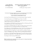 Quyết định 17/2013/QĐ-UBND ban hành Quy chế thu, quản lý và sử dụng Quỹ quốc phòng - an ninh trên địa bàn thành phố Đà Nẵng
