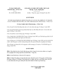 Quyết định 23/2013/QĐ-UBND về quản lý dự án, nhiệm vụ từ nguồn chi sự nghiệp