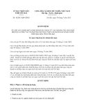 Quyết định 10/2013/QĐ-UBND quy định mức kinh phí