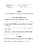 Quyết định 23/2013/QĐ-UBND uy định mức chi, quản lý, sử dụng ngân sách Nhà nước