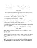 Quyết định 790/QĐ-UBND năm 2013 về phân bổ đầu tư xây dựng cơ bản từ nguồn vốn vay tín dụng ưu đãi do tỉnh Bắc Giang ban hành