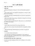Giáo án Địa lý 6 bài 17: Lớp vỏ khí
