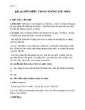 Giáo án Địa lý 6 bài 20: Hơi nước trong không khí - Mưa