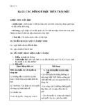 Giáo án Địa lý 6 bài 22: Các đới khí hậu trên Trái Đất