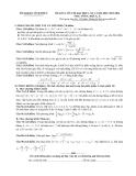 Đề thi thử Đại học môn Toán khối A, A1 năm 2014 - Vĩnh Phúc