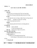 Giáo án Tin học 10 bài 19: Tạo và làm việc với bảng