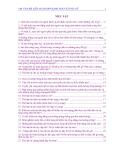 140 Vấn đề liên quan đến kinh nguyệt phụ nữ