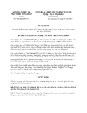 Quyết định 968/QĐ-BNN-TT năm 2013