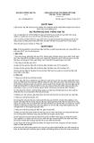 """Quyết định 1133/QĐ-BGTVT năm 2013 phê duyệt Đề án """"Đưa đội tàu biển Việt Nam ra khỏi Danh sách đen của Tokyo MOU vào cuối năm 2014"""" do Bộ trưởng Bộ Giao thông vận tải ban hành"""