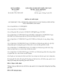 Thông tư liên tịch 62/2013/TTLT-BTC-BTP