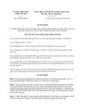 Quyết định 430/QĐ-UBND năm 2013