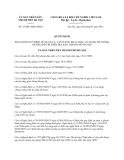 Quyết định 15/2013/QĐ-UBND quy định quản lý, vận hành, khai thác, sử dụng hệ thống đường đô thị trên địa bàn thành phố Hà Nội