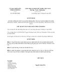 Quyết định 966/QĐ-UBND năm 2013
