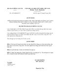 Quyết định 1197/QĐ-BGTVT năm 2013 phê duyệt Kế hoạch hoàn thiện việc thực hiện đề án nâng cao ý thức trách nhiệm, đạo đức công vụ của cán bộ, công, viên chức ngành Giao thông vận tải