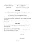 Quyết định 995/QĐ-UBND năm 2013