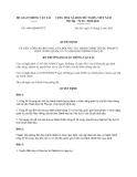Quyết định 1485/QĐ-BGTVT năm 2013