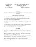 Quyết định 25/2013/QĐ-UBND về đặt số hiệu đường huyện, địa bàn tỉnh Hà Nam
