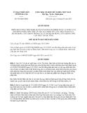 Quyết định 936/QĐ-UBND năm 2013