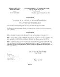 Quyết định 817/QĐ-UBND
