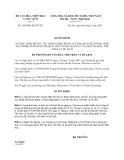Quyết định 1695/QĐ-BVHTTDL năm 2013