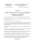 Nghị quyết 302/2013/NQ-HĐND