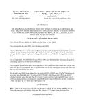 Quyết định 1667/2013/QĐ-UBND