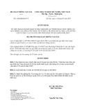 """Quyết định 1260/QĐ-BGTVT năm 2013 về Kế hoạch thực hiện Đề án """"Triển khai thực hiện các quy định của Công ước quốc tế về tiêu chuẩn huấn luyện, cấp chứng chỉ và trực ca của thuyền viên năm 1978 sửa đổi năm 2010"""" do Bộ trưởng Bộ Giao thông vận tải ban hành"""