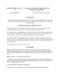 Quyết định 1285/QĐ-BGTVT