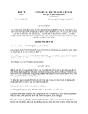 Quyết định 1545/QĐ-BYT năm 2013