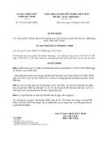 Quyết định 147/2013/QĐ-UBND