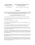 Quyết định 22/2013/QĐ-UBND