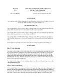 Quyết định 1534/QĐ-BYT năm 2013