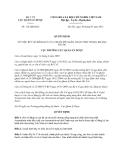 Quyết định 112/QĐ-QLD năm 2013