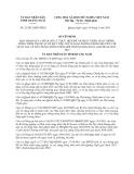 Quyết định 23/2013/QĐ-UBND