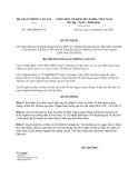 Quyết định 1286/QĐ-BGTVT năm 2013