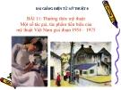 Slide bài Một số tác giả, tác phẩm mỹ thuật VN từ 1954-1975 - Mỹ thuật 8 - GV.B.Mai Phương