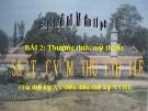 Slide bài Sơ lược mỹ thuật thời Lê - Mỹ thuật 8 - GV.B.Mai Phương