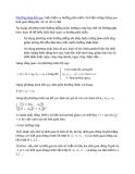 Dự đoán dựa vào phương trình hồi quy