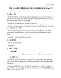 Giáo án Địa lý 8 bài 15: Đặc điểm dân cư, xã hội Đông Nam Á