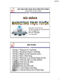 Bài giảng Marketing trực tuyến - Ths. Ao Thu Hoài