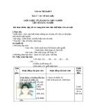 Bài 27 + 28: Giới thiệu tỷ lệ cơ thể người và vẽ dáng người - Giáo án Mỹ thuật 8 - GV.N.T.Tín