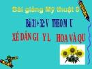 Bài 31 + 32: Xé dán tĩnh vật lọ hoa và quả - Bài giảng điện tử Mỹ thuật 8 - GV.N.Trung Tín