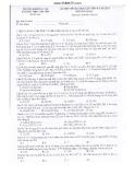 Đề thi thử Đại học lần 2 môn Hóa năm 2014 - Trường THPT chuyên ĐHSP Hà Nội (Mã đề 221)