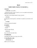 Giáo án Địa lý 7 bài 42: Thiên nhiên Trung và Nam Mĩ (tiếp theo)