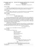 Đề thi tuyển sinh lớp 10 môn Ngữ văn năm 2013 - Trường THPT chuyên Lương Văn Chánh