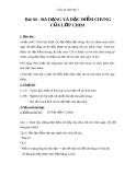 Giáo án Sinh học 7 bài 44: Đa dạng và đặc điểm chung của lớp chim