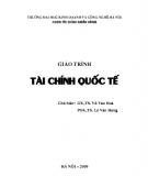 Giáo trình Tài chính quốc tế - GS.TS. Vũ Văn Hóa, PGS.TS. Lê Văn Hưng