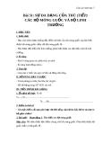 Giáo án Sinh học 7 bài 51: Đa dạng của lớp thú( tiếp theo) các bộ mống guốc và bộ linh trưởng