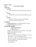Giáo án Tin học 11 bài 16: Ví dụ và làm việc với tệp